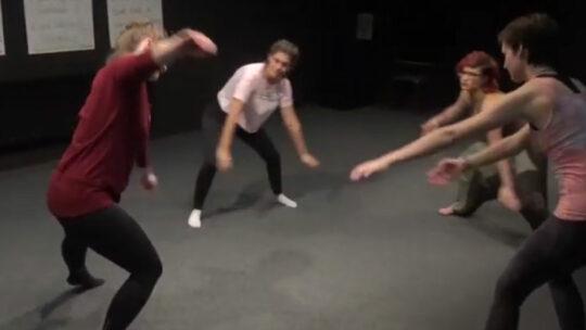 Tanz trifft Gebärdensprache