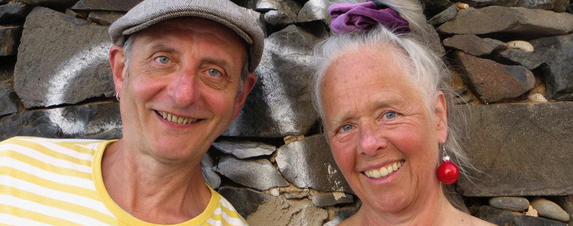 Angie Hiesel & Roland Kaiser zu Besuch